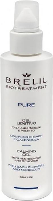 Brelil Bio Traitement Pure Calming Gel Успокаивающий гель, 100 мл гель brelil professional berries precision shaving gel 100 мл