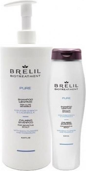 Brelil Bio Traitement Pure Calming Shampoo Деликатный восстанавливающий шампунь, 250 мл цена