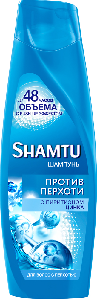 Шампунь Shamtu Против перхоти, с пиритионом цинка, 360 мл shamtu шампунь 100
