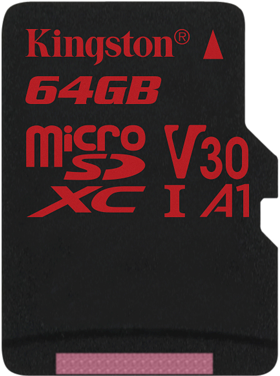 Kingston microSDXC Canvas React UHS-I Class U3 64GB карта памяти без адаптера карта памяти microsd 128 gb