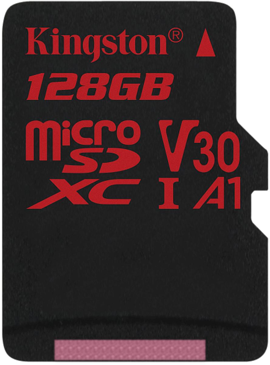 Kingston microSDXC Canvas React UHS-I Class U3 128GB карта памяти без адаптера карта памяти это внешняя или внутренняя