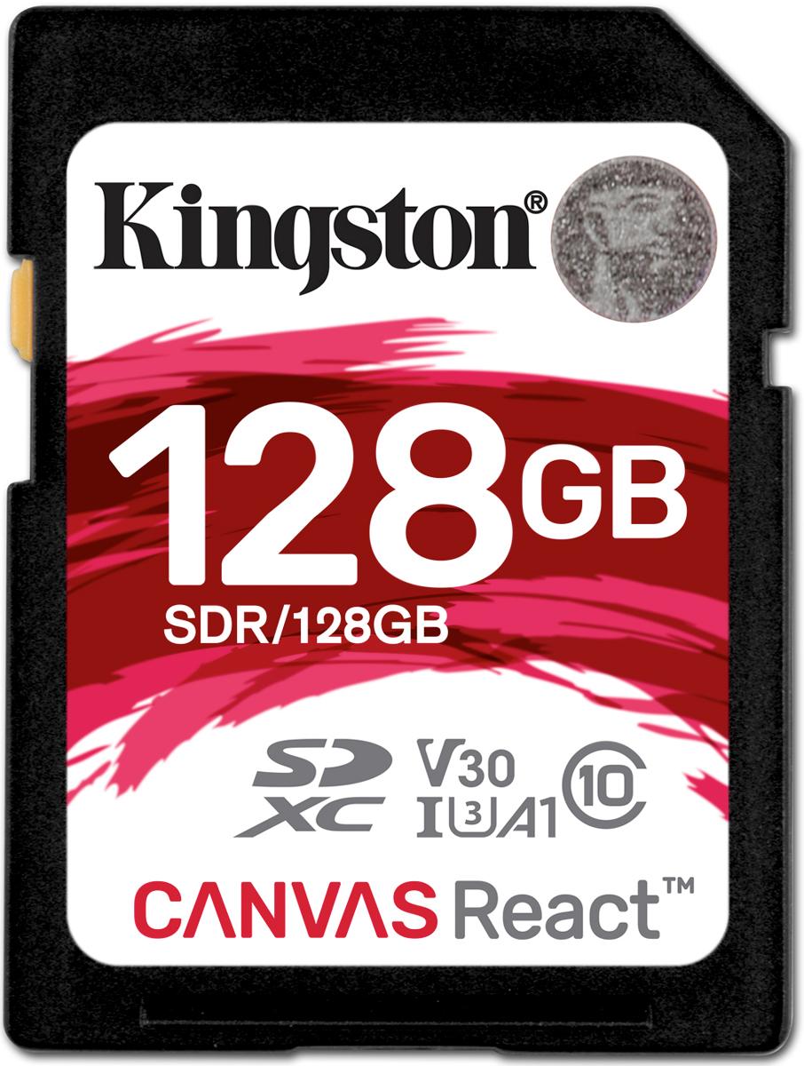 Kingston SDXC Canvas React UHS-I Class U3 128GB карта памяти карта памяти это внешняя или внутренняя