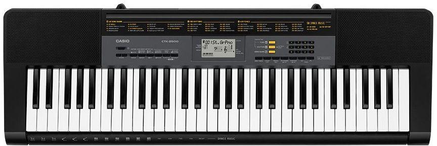 Casio CTK-2500, Black цифровой синтезатор цена и фото