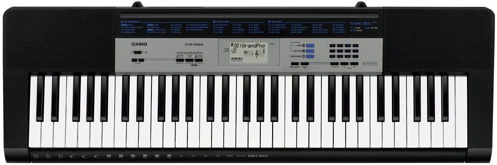 Casio CTK-1550, Black цифровой синтезатор