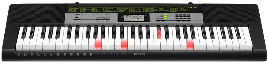 Casio LK-135, Black цифровой синтезатор casio casio lk 135