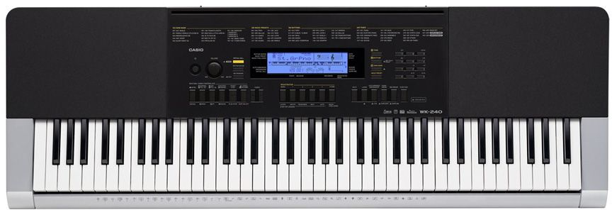 Casio WK-240, Black цифровой синтезатор