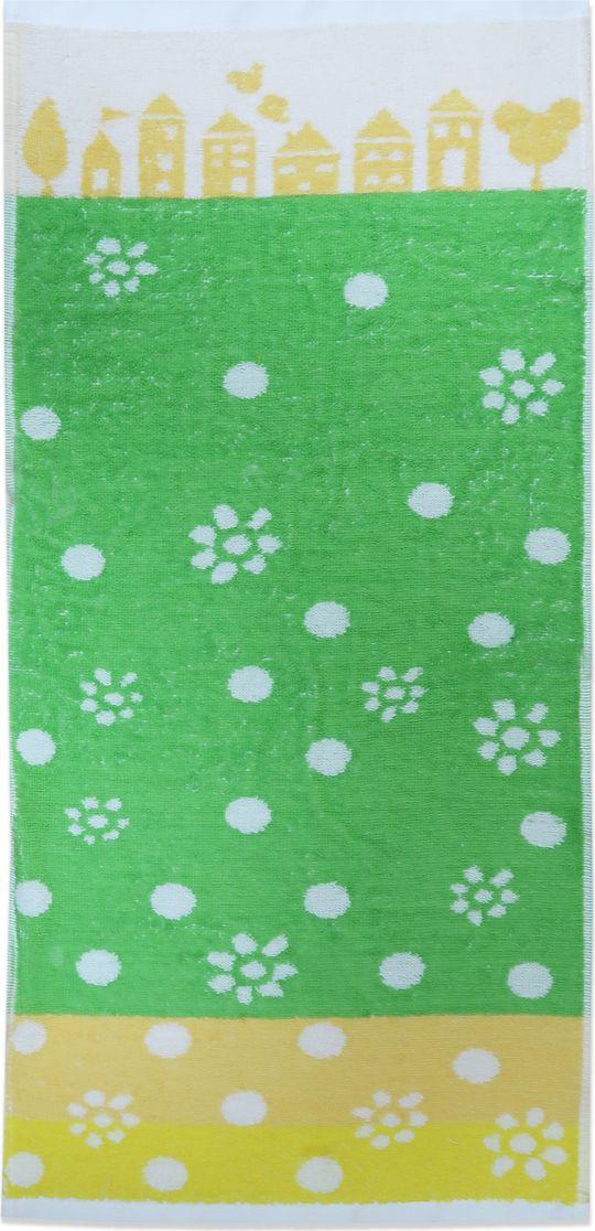 Bravo Полотенце детское Радость цвет зеленый 120 х 60 см
