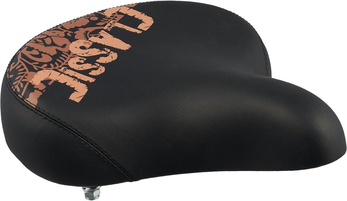 Седло велосипедное DDK EX19, цвет: черный