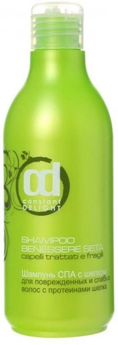 лучшая цена Constant Delight SPA-шампунь с шелком для поврежденных и слабых волос, 250 мл