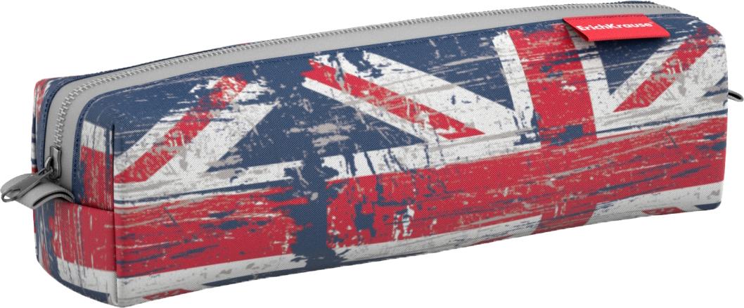 Пенал квадро mini ErichKrause British Flag, 21 х 5 х 5 см цена