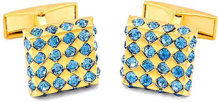 цена Запонки мужские Greg, цвет: золотой. 156318 онлайн в 2017 году