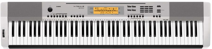 Casio CDP-230R SR, Silver цифровое фортепиано синтезаторы и пианино casio cdp 230rbk