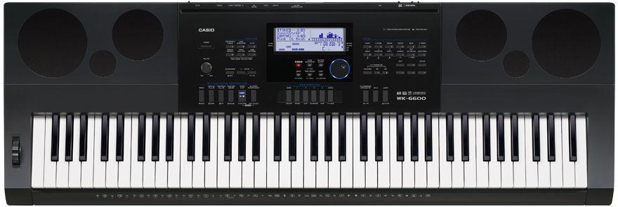 цены Casio WK-6600, Black цифровой синтезатор