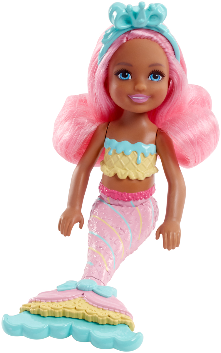 Barbie Мини-кукла Маленькие русалочки FKN04