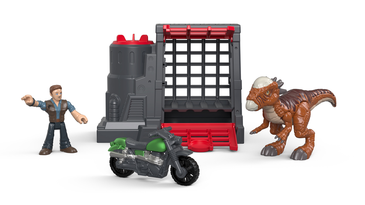 Imaginext Набор фигурок Jurassic World Stygimoloch & Owen