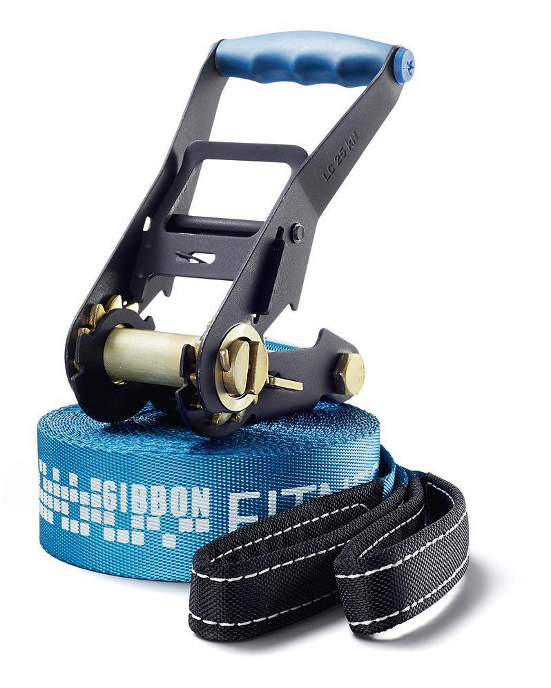 Слэклайн Gibbon Fitness Line, 150 х 5 х 0,4 см защита трещотки gibbon rat pad 29 х 12 5 х 1 см
