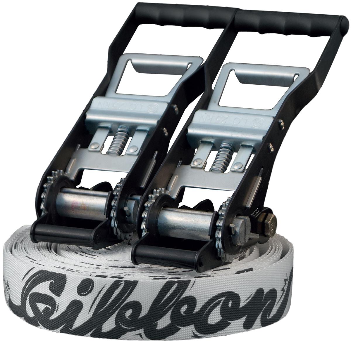Слэклайн Gibbon Andy Lewis, 250 х 5 х 0,4 см защита трещотки gibbon rat pad 29 х 12 5 х 1 см