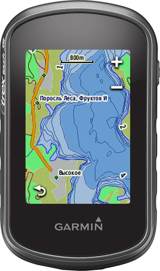 Garmin eTrex Touch 35 GPS/GLONASS Russia навигатор