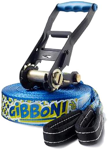 Слэклайн Gibbon Funline, с защитой для дерева, 150 х 5 х 0,4 см защита трещотки gibbon rat pad 29 х 12 5 х 1 см