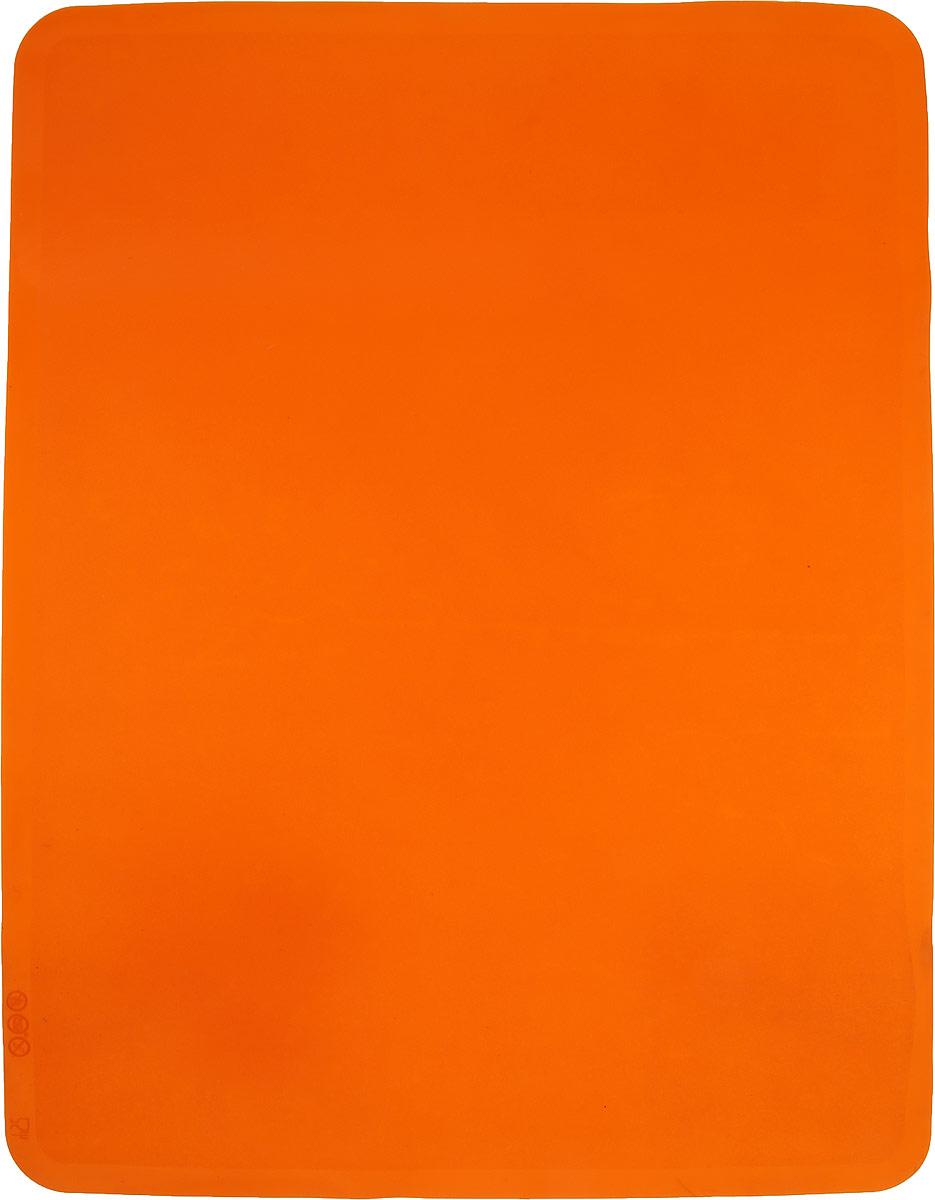 "Коврик кулинарный ""Taller"", цвет: оранжевый, 38,5 см х 28,5 см"