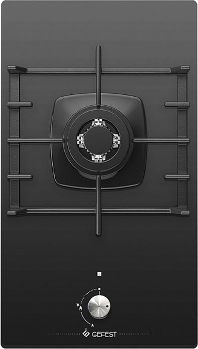 все цены на Панель варочная газовая встраиваемая Gefest ПВГ 2001, Black онлайн