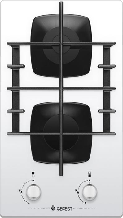 лучшая цена Варочная панель Gefest ПВГ 2003 K12, газовая, встраиваемая, белый