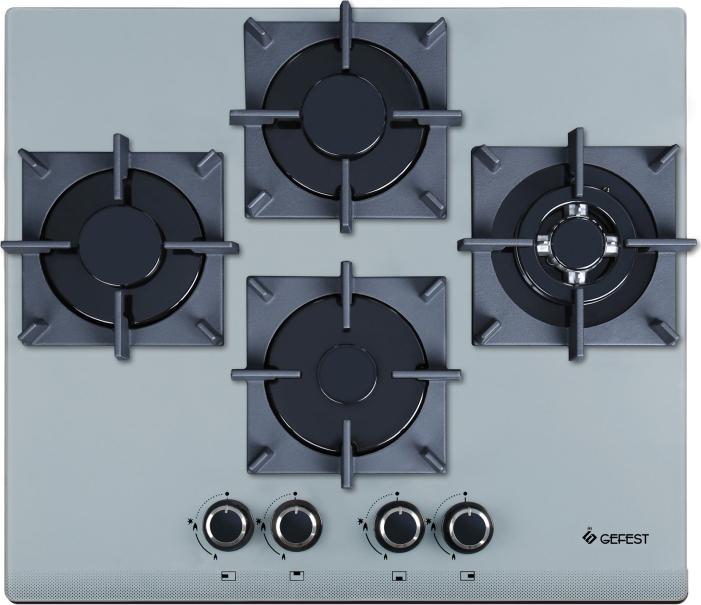 все цены на Варочная панель Gefest ПВГ 2231-01 К36, газовая, серебристый онлайн