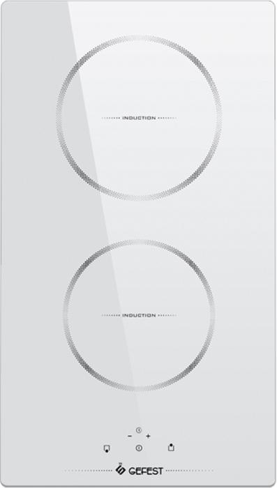 Варочная панель Gefest ПВИ 4000 К12, электрическая, белый Gefest