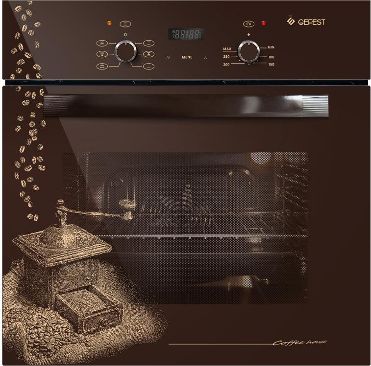 Духовой шкаф Gefest ЭДВ ДА 622-02 К17, электрический, встраиваемый