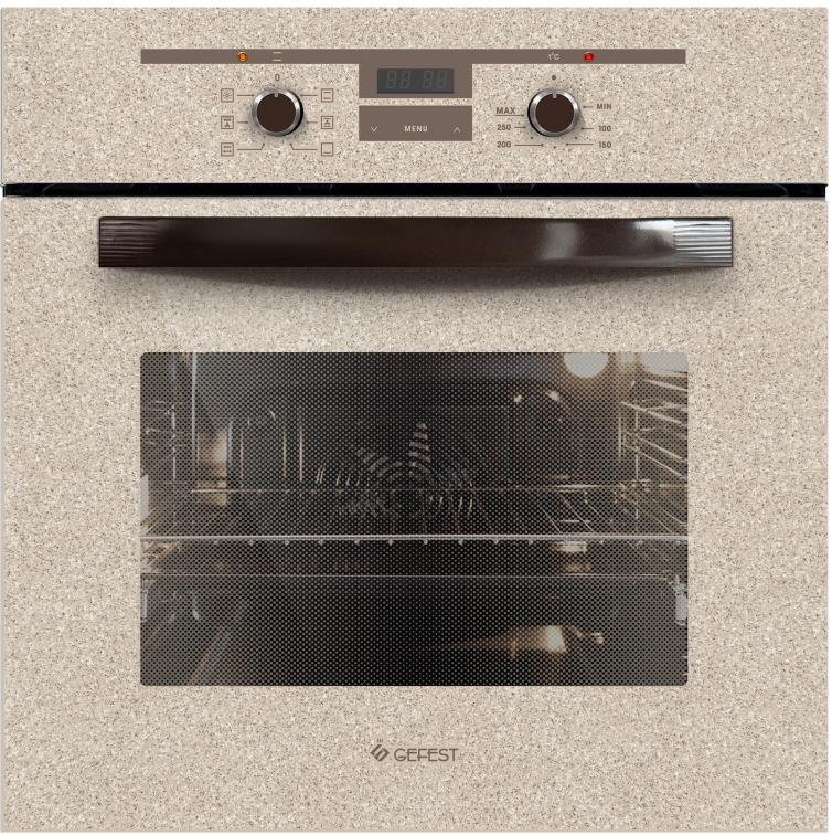 цена на Духовой шкаф Gefest ЭДВ ДА 622-02 К48, электрический, встраиваемый, бежевый