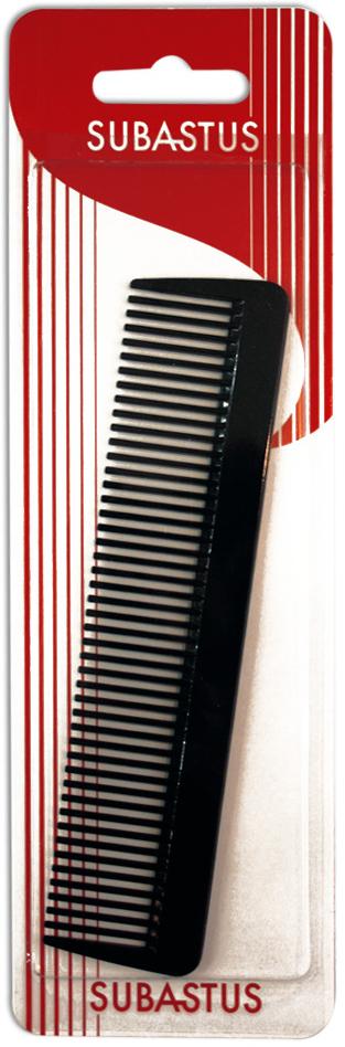 Subastus Расческа с крупными зубцами3733942063914Безопасна для волос и кожи головы. Изготовлена из износостойкого и гипоаллергенного пластика категории Био - Optiroid/Оптироид: сохраняет стабильность при нагреве до температуры 300°C. Антистатик.