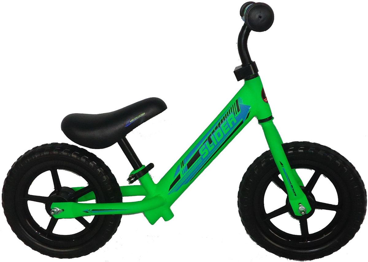 Slider Беговел детский цвет зеленый pop bike беговел детский sprint с бескамерными колесами цвет синий