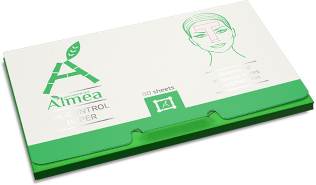 Almea Oil-control paper Матирующие салфетки для лица, 80 шт цены