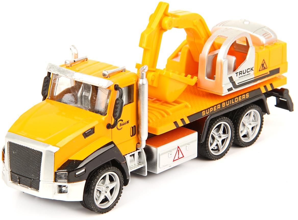 Drift Машинка Спецтехника Scoop Truck 1:36 машина drift спецтехника бетономешалка 48228