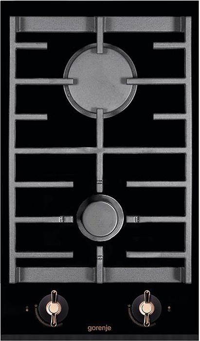 Варочная панель Gorenje GC341INB, газовая, встраиваемая, черный