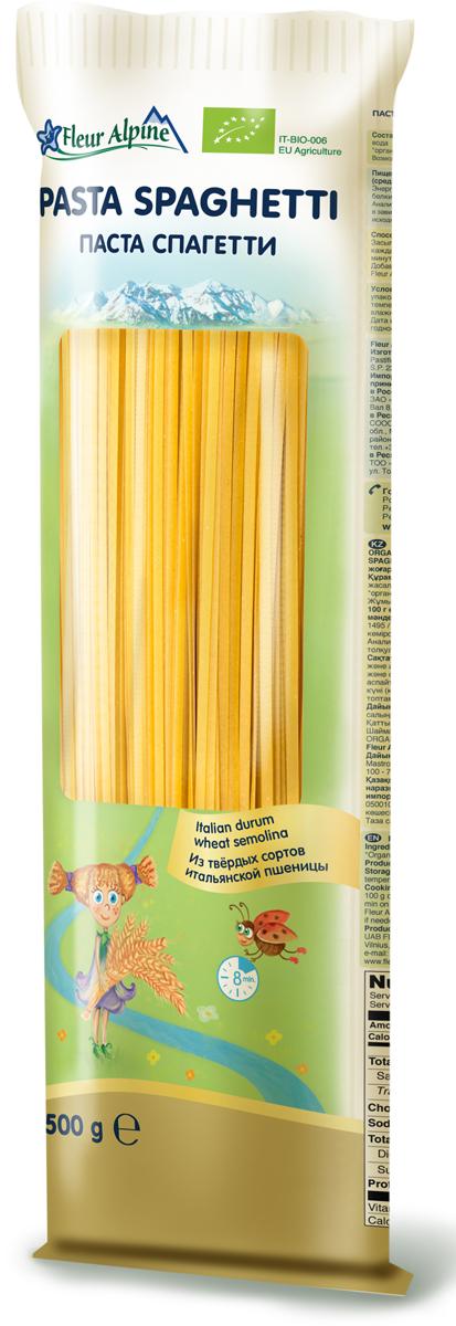 Флёр Альпин Органик паста спагетти, 500 г