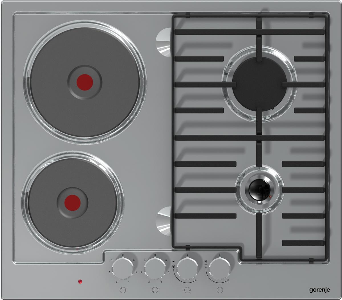 Варочная панель Gorenje, комбинированная, встраиваемая, K6N20IX Gorenje