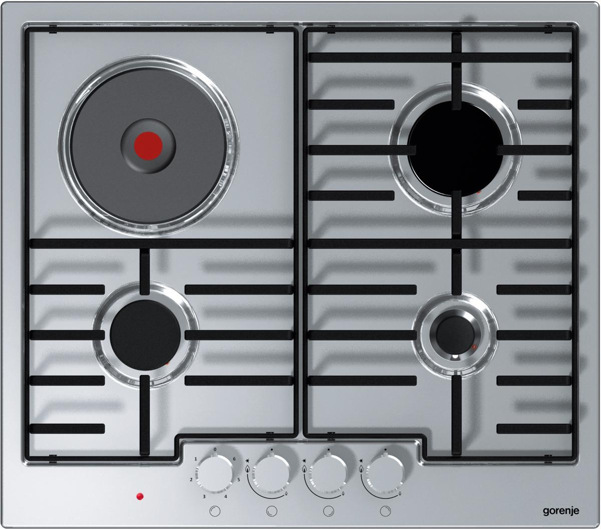 лучшая цена Варочная панель Gorenje, комбинированная, встраиваемая, K6N30IX