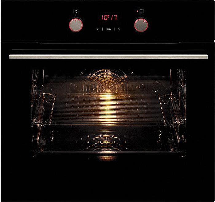 Духовой шкаф встраиваемый Hansa BOEB64190055, Black встраиваемый электрический духовой шкаф hansa boei64008