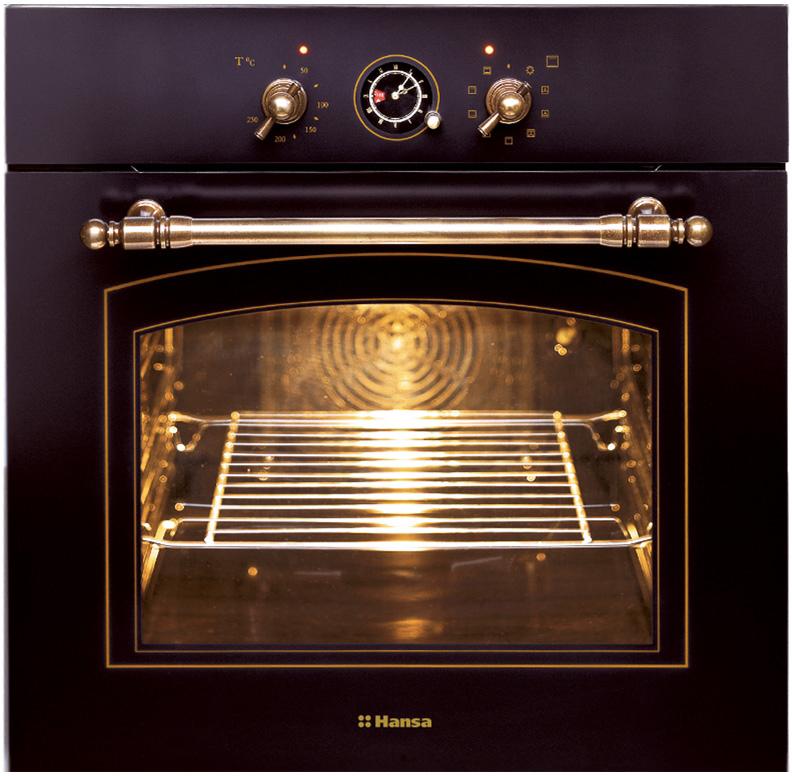 Духовой шкаф Hansa BOES68120090, 49966869, встраиваемый, электрический, anthracite духовой шкаф hansa boes68120090