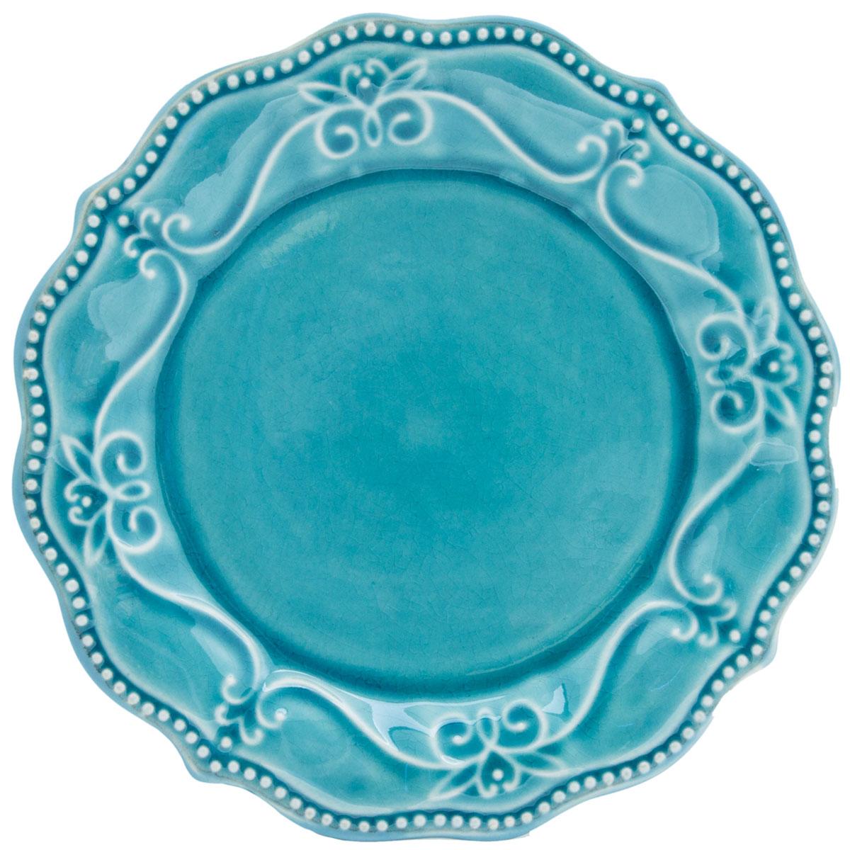 Тарелка десертная PL-19 Blue, Керамика