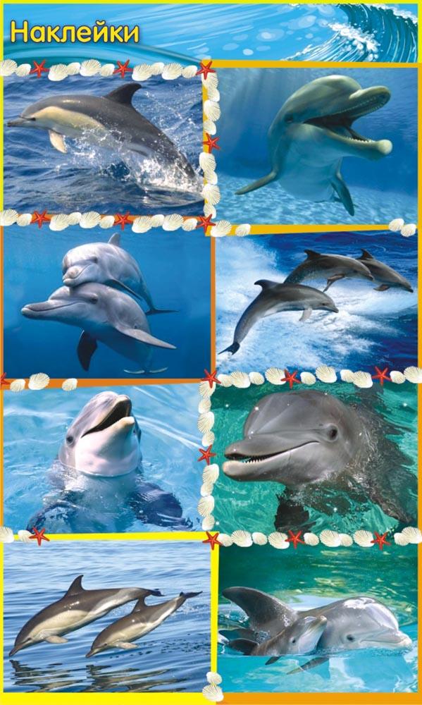 ЛиС Набор наклеек Дельфины НК-1295