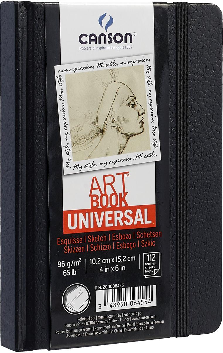 Canson Блокнот для зарисовок Universal 10,2 х 15,2 см 112 листов