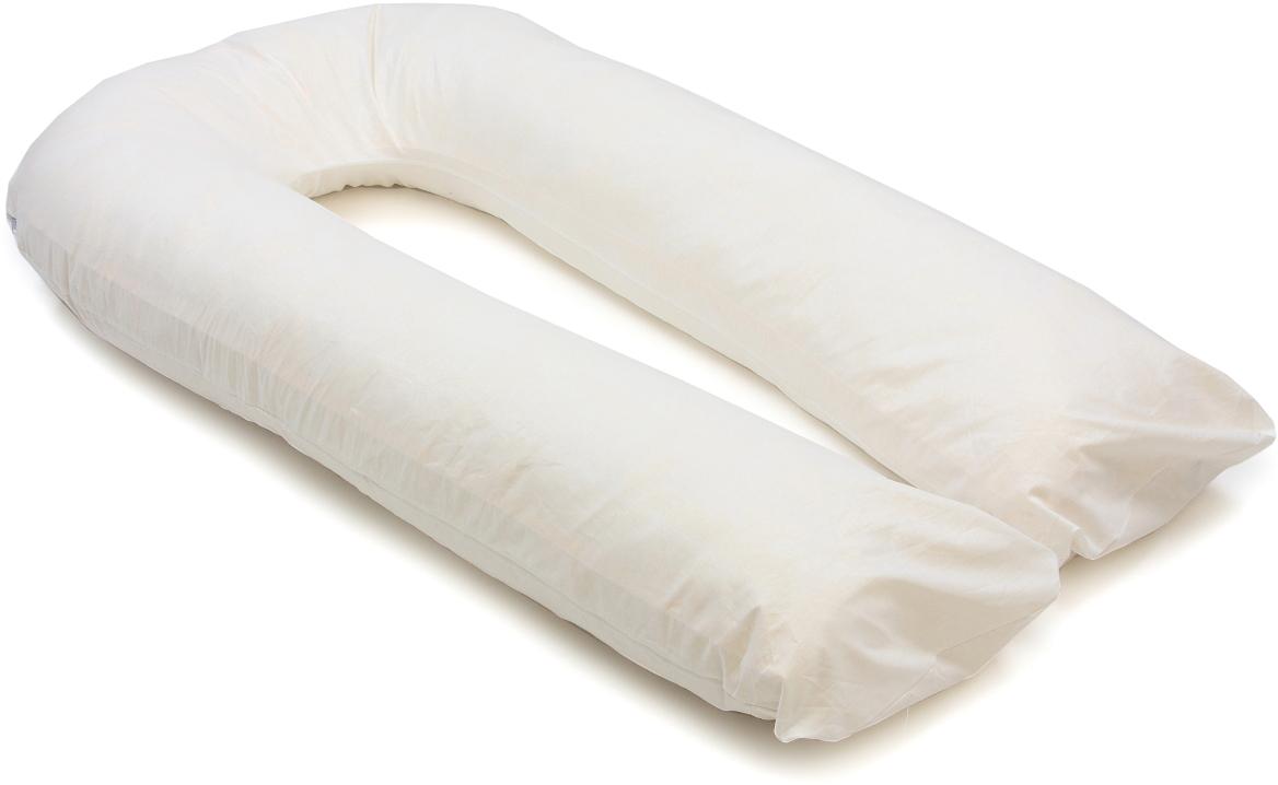 Sonvol Подушка для беременных и кормящих U-образная цвет белый