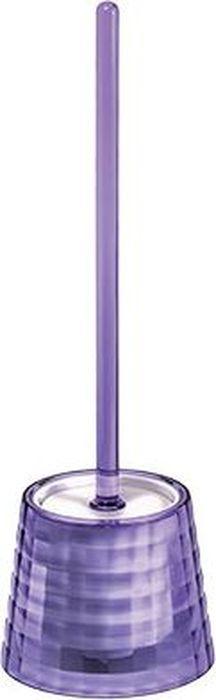 """Ершик для унитаза Fixsen """"Glady"""", с подставкой, цвет: фиолетовый, 41 х 13,2 х 13,2 см"""