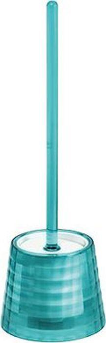Ершик для унитаза Fixsen Glady, с подставкой, цвет: бирюзовый, 41 х 13,2 х 13,2 см ершик для унитаза fixsen glady с подставкой цвет мокко 41 х 13 2 х 13 2 см