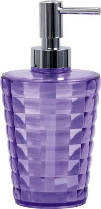 """Диспенсер для мыла Fixsen """"Glady"""", цвет: фиолетовый, 200 мл"""