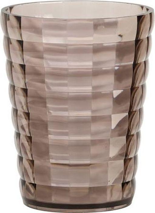 Стакан для ванной комнаты Fixsen Glady, цвет: мокко, 200 мл ершик для унитаза fixsen glady с подставкой цвет мокко 41 х 13 2 х 13 2 см
