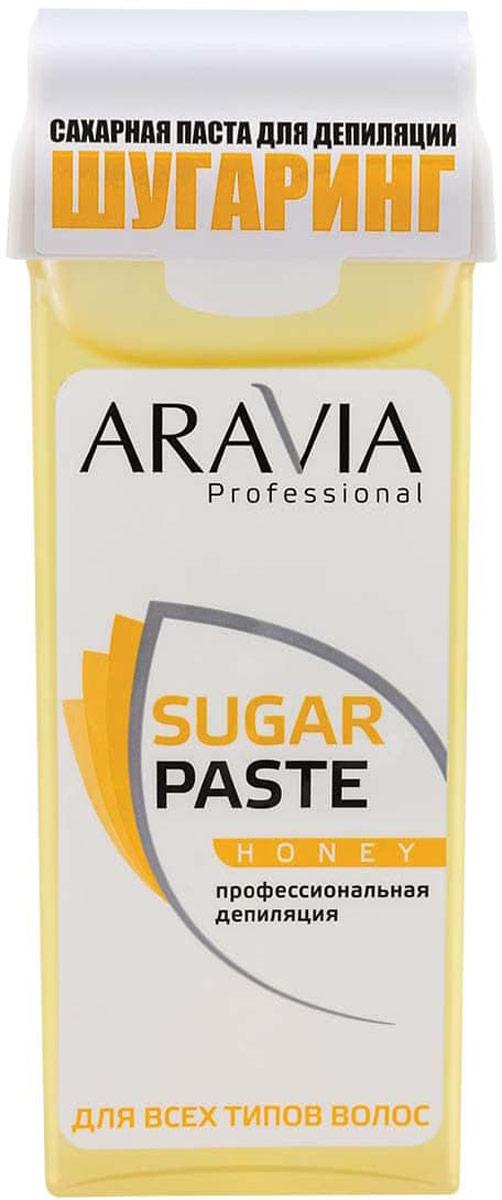 Aravia Professional Сахарная паста для депиляции в картридже Медовая очень мягкой консистенции, 150 г сахарная паста для депиляции медовая очень мягкой консистенции 750 гр