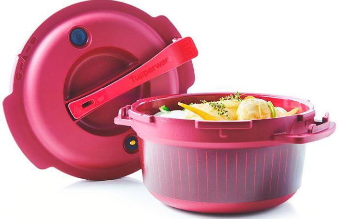 Скороварка для СВЧ Tupperware Супер-повар, 3 л авент стерилизатор для свч печи арт 82765 scf281 02
